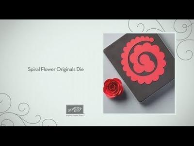 Spiral Flower Originals Die by Stampin' Up!