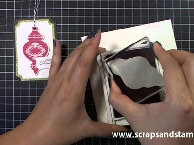 Stampin' Up! Tutorial - 2012 Christmas Series #2 - Scraps & Stamps