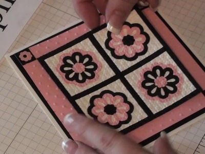 Stamping Jill - Triple layer punch quilt card