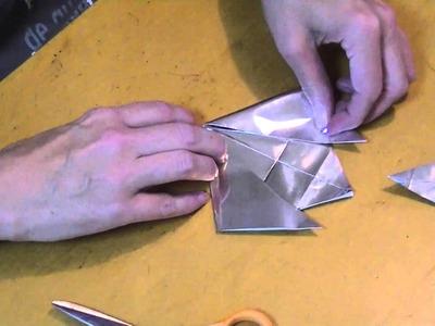 Weekend Origami--Kirigami Star