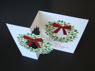 Wreath Flip Card Tutorial