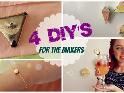 4 DIY's Twist and Shout | For the Makers