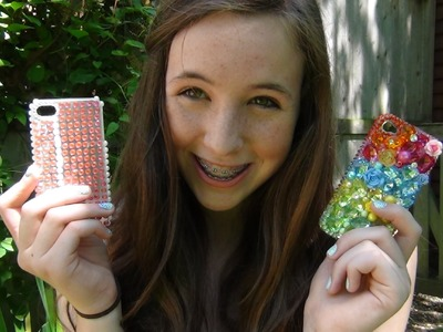 Bling Phone Case DIY and Review!