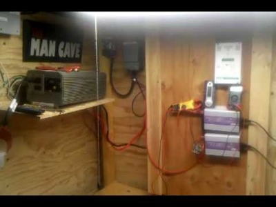 DIY Battery BackUp Home, Grid tied solar Home