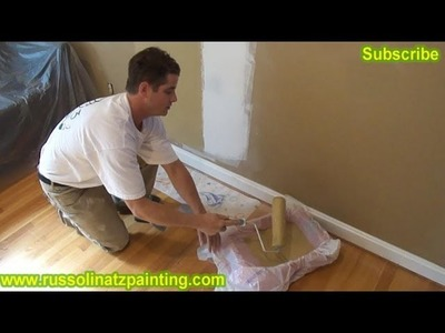 DIY Drywall Repair: How to Fix Holes and Dents in the Wall (Part 6)