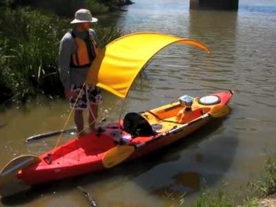DIY Kayak Bimini Top Part 2