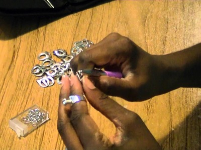 DIY Soda Can Jewelry - Freestlye Friday #7