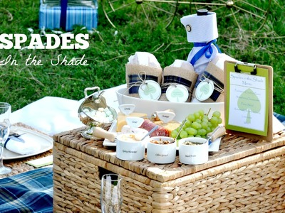 DIY Summer Picnic:  Spades in the Shade Picnic
