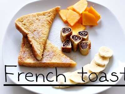 French Toast Varianten
