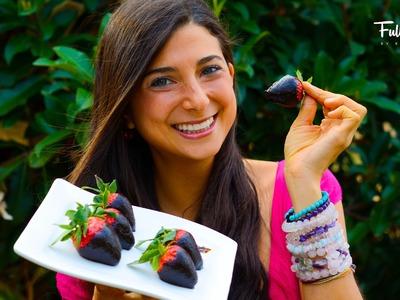 FullyRaw Chocolate Covered Strawberries!