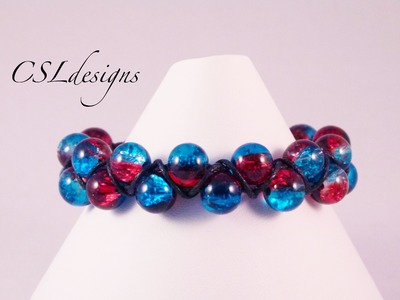Goddess macrame bracelet