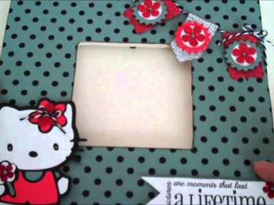 Hello Kitty Frame with Banner