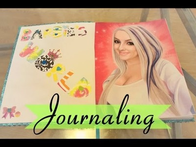 How I Made My Journal Front Cover