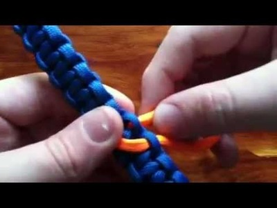 How to add a heart to your paracord bracelet