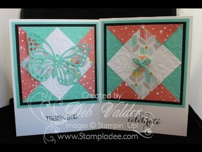 How to Build a Quilt Card with Deb Valder