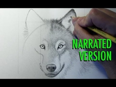 How to Draw a Wolf (Narrated)
