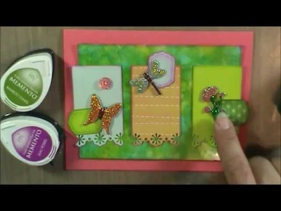 How to Make a Card with a Sketch, Part 2