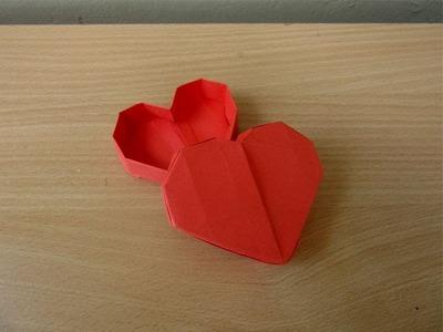 How to Make a Paper Precious Heart Box - Easy Tutorials