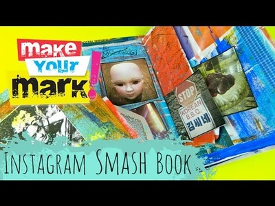 How to make an Instagram Smash Book DIY