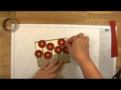 How to Make Easy Flowers and Fences - Card Making Video Tutorial Series