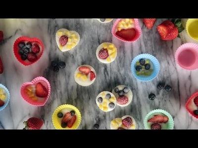 How to Make Frozen Yogurt Fruity Bites | Get the Dish