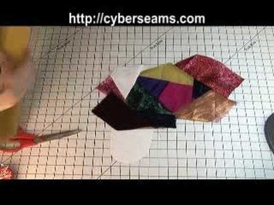 How to Sew -- Crazy Quilt Christmas Stocking