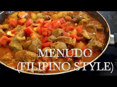 Kristine's Kitchen || Pork Menudo (Filipino Style) - enjoylifelovefood