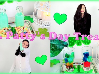 Last Minute Quick & Easy St. Paddy's Day Treats!