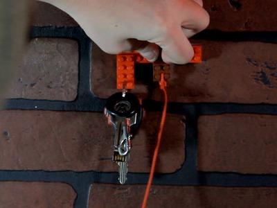 Life Hacks: Lego Key Rack