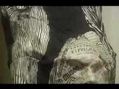 Lignum Vitae Papier Mache (Paper Mache) sculpture exhibit