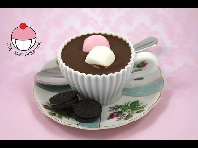 Make Hot Chocolate Teacup Cupcakes! A Cupcake Addiction How To Tutorial