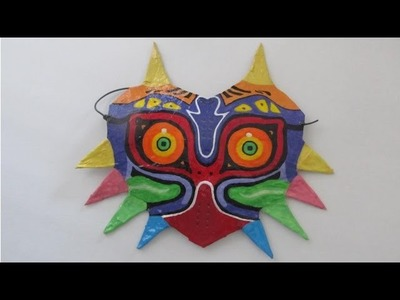 Make Majoras Mask from The Legend of Zelda