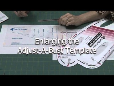 Making the Adjust-A-Bust Template Smaller or Larger with Sure-Fit Designs™