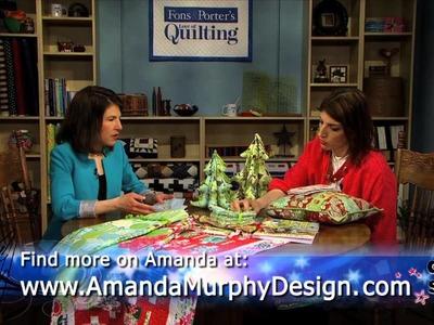 Quilt With The Stars: Meet Quilt Designer Amanda Murphy, Part 1