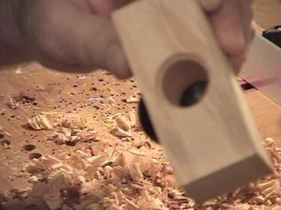 Scroll Saw Coin Cutting Jig Part One