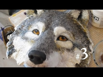 Sculpt a Wolf's Head, Part 3