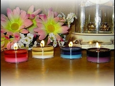 Soy Candle Making at Home for Beginners-How To Make 7 to 8 Hour Tealights!