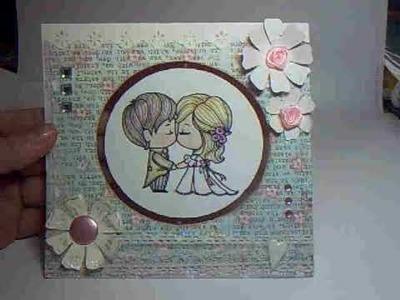 Spinning Wedding Card