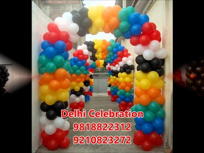 Birthday party decorations in Delhi | Balloon decoration Noida