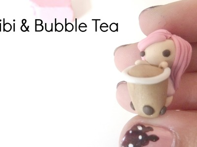Chibi & Bubble Tea || Polymer Clay Tutorial