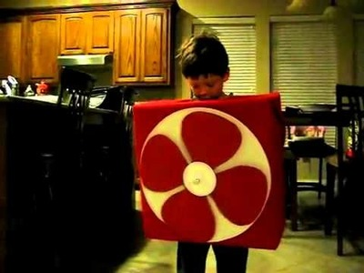Coolest Homemade Moving Fan Costume