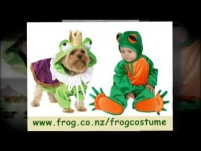 Frog Costume - Great Idea For Halloween