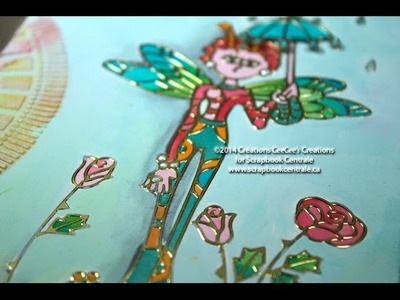 "Journal d'artiste ""april showers bring may flowers"" art journaling"