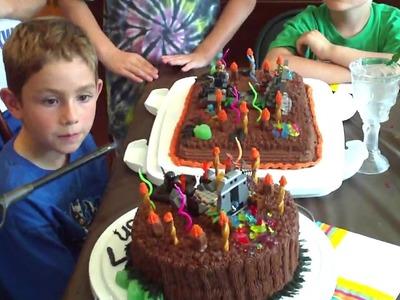 Landon's 7th Birthday Cake