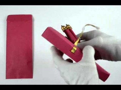 S567, Pink Color, Handmade Paper, Scroll Invitations, Birthday Invitations, Small Size Scrolls