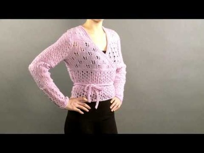 #17 Lace Wrap Cardigan, Vogue Knitting Holiday 2008