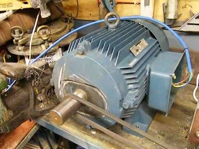 25hp 3 phase motor run from single phase! can it be done ? cheap 3 phase supply
