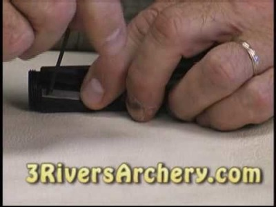 3Rivers Archery:  Dale Karch Demonstrates the Tru Center Taper Tool