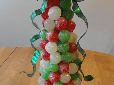 A Festive Gumdrop Tree