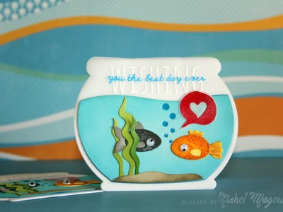 Adding Dimension to Die Cuts with Distress Inks